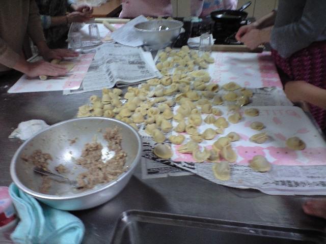 餃子とペルメニ
