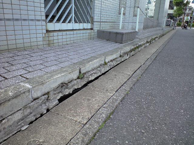 恐ろしい地盤沈下: 鳩ヶ谷雑記